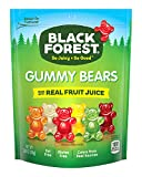SO JUICY. SO GOOD: You know 'em, love 'em, now get your hands on some Black Forest Gummy Bears. Made with real fruit juice, fat-free & gluten-free, each little gummy bear is as delicious as the last & the resealable bag keeps them fresh. BLACK FOREST...