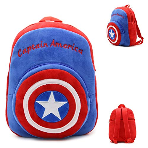 Appiu Children's shoulder bag nursery cartoon backpack stuffed bags candy bag snack package (Color : 3)