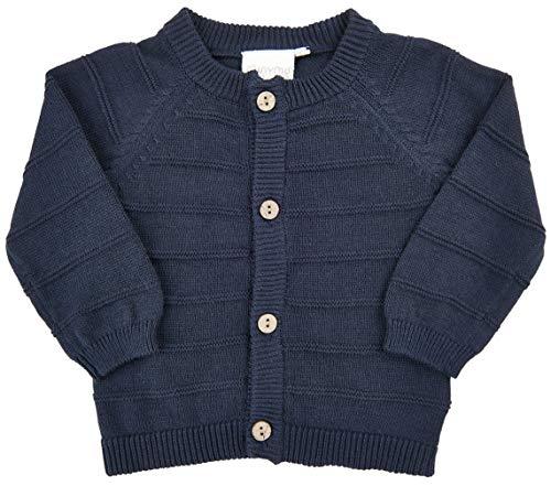 Minymo MINYMO Baby Boy Knit Cardigan Indigo Blue 56