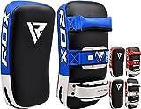 RDX Muay Thai Pad for Training, Curved Kickboxing Kicking Strike Shield, Coaching Kick Boxing, MMA, Martial Arts, Karate, Taekwondo, Punching, Foot, Knee and Elbow Target(Sold AS Single)