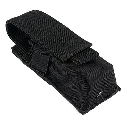 Froomer Bolsa de Cintura, Hombre, Negro, 14X5.5X4CM