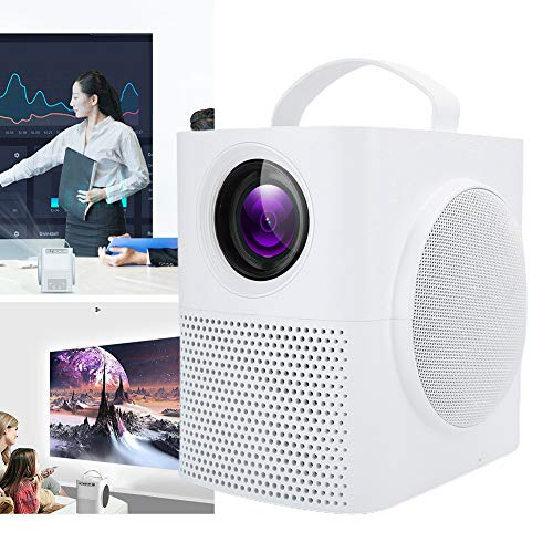 01 Proyector al Aire Libre, Mini proyector portátil para Fiestas para Viajes al Aire Libre para Cine en casa(Transl)