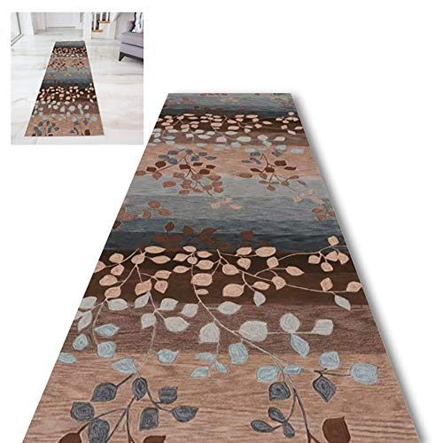 Runner Rugs ZLI Hall Hallway, Washable Balcony Living Room Carpet Floor Protector Mats, Dirt Trapper Kitchen Area Rugs, Easy to Clean (Size : 60×300cm)