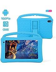 Kinder Tablet 7 Zoll IPS-Bildschirm Quad-Core Android 10.0 2 GB RAM 32 GB ROM Google Play Vorinstalliert mit Blau Proof Case GMS-Zertifiziertem Kinder Spielzeug Kindergeschenk (blau)
