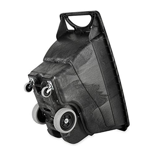 Rubbermaid Commercial Products FG9T1300BLA Polyethylene Box Cart, 450-Pound Load Capacity, Black