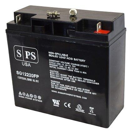 Replacement Battery Stanley 500 Amp Jump Starter 12V 22AH Jump Starter Battery -(SPS Brand) - 2 Pack