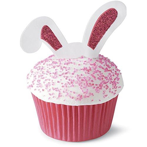 Easter Bunny Ears Cupcake Picks Set of 12