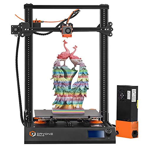 Impresora 3D Eryone Thinker SE, súper silenciosa, superficie de impresión de vidrio, eje XYZ mejorado, extrusora y plataforma de impresión, tamaño de impresión 300x300x400 mm