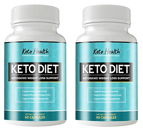 KETO Health Diet 120 Capsules - KETOGENIC Weight Loss Support - 2 Month Supply