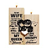 Valporia Gifts for Wife Birthday Gifts for Women Valentines Day Gifts for Her for Wife Candle Holder