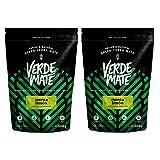 Verde Mate Yerba matè Green Menta Limon | Verde Maté Vert Mentha Citron | Yerba Mate du Brésil |Haute qualité | Yerba Mate stimulante | sans Gluten | n'est Pas séchée par la fumée (1000g (2x500g))
