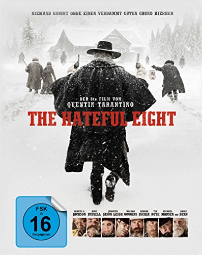 The Hateful 8 - Steelbook [Blu-ray] [Limited Edition]