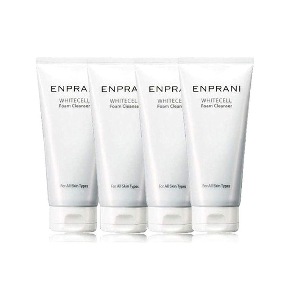 まさに他の場所構造エンプラニホワイトセル、フォームクレンザー100mlx 4本セット毛穴洗浄 皮膚管理、Enprani White Cell Foam Cleanser 100mlx 4ea Set Pore Cleaning Skin Care [並行輸入品]