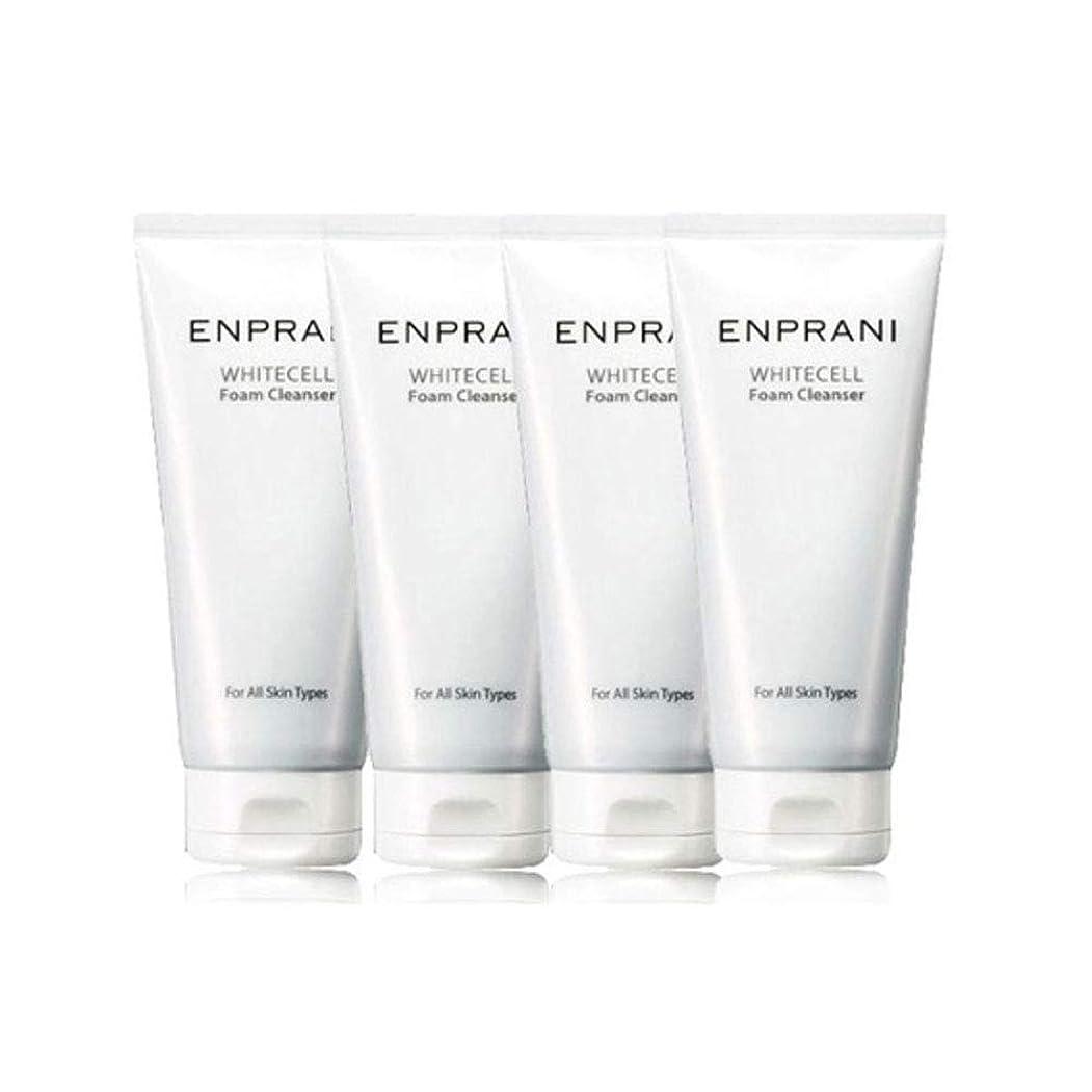 エゴイズムれる覗くエンプラニホワイトセル、フォームクレンザー100mlx 4本セット毛穴洗浄 皮膚管理、Enprani White Cell Foam Cleanser 100mlx 4ea Set Pore Cleaning Skin Care [並行輸入品]