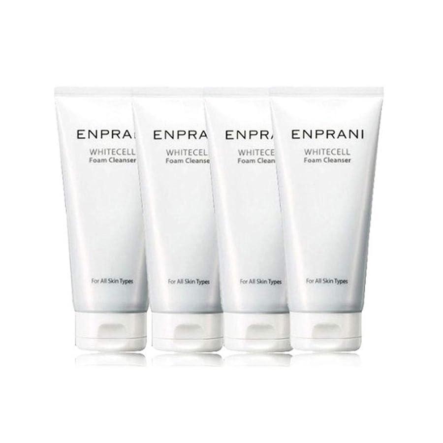 スキャン勇気テレマコスエンプラニホワイトセル、フォームクレンザー100mlx 4本セット毛穴洗浄 皮膚管理、Enprani White Cell Foam Cleanser 100mlx 4ea Set Pore Cleaning Skin Care [並行輸入品]