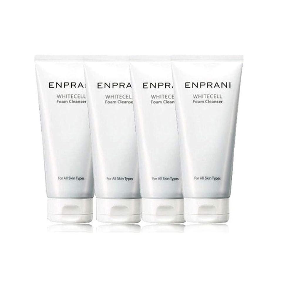 エンプラニホワイトセル、フォームクレンザー100mlx 4本セット毛穴洗浄 皮膚管理、Enprani White Cell Foam Cleanser 100mlx 4ea Set Pore Cleaning Skin Care [並行輸入品]