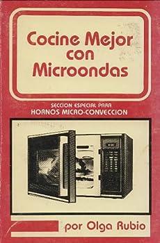Paperback Cocine Mejor con Microondas Book