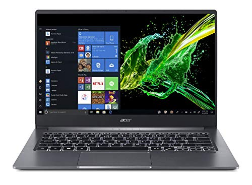 (Renewed) Acer Swift 3 10th Gen Core i5 14-inch Ultra Thin and Light Laptop (8GB/512GB SSD/Windows 10/Steel Gray/1.19kg), SF314-57