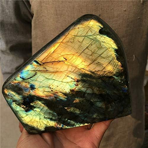 2.92lb Natural Super sale Labradorite Quartz NEW Mineral Spectrolite Crystal He