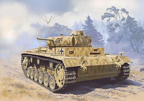 Model Kit - 1 35, Panzerbeobachtungswagen III Aust.F, Char, DR6792 - dragon