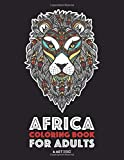 Africa Coloring Book For Adults: Artwork Inspired by African Designs, Adult Coloring Book for Men, Women, Teenagers, & Older Kids, Advanced Coloring ... Practice for Stress Relief & Relaxation
