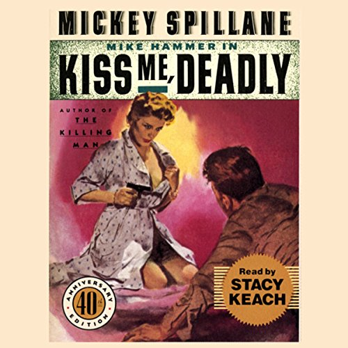 Kiss Me, Deadly audiobook cover art