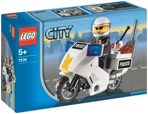 LEGO City 7235 - Polizeimotorrad