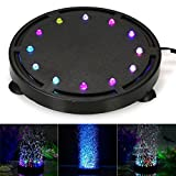 Sumergible LED Aire Bubble Light Colorful Decoration for Acuario Fish Tank