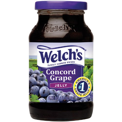 Welch's Grape Jelly 510g, 6er Pack (6 x 510 g)