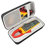Khanka Hard Travel Case Replacement for Fluke 376/374/ 375FC 1000A Ac/Dc TRMS Wireless Clamp W/Iflex