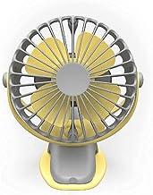 Hang de nekventilator, draagbare draagbare mini-reishandventilator, draagbare mini-USB-ventilator, 4 snelheden, 360 graden...