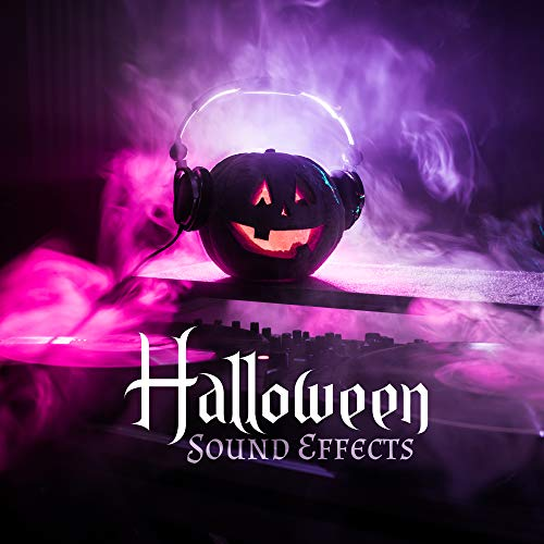 Halloween Sound Effects: Music Background containing Sinister Moaning of Ghosts, Screams of Monsters: Evil Clowns, Bloody Widow, Zombies, Witches, Mummies