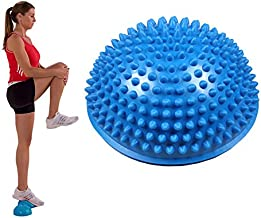 Panlom/® Coussin de massage gonflable avec coussin de r/é/éducation /à pompe de la cheville pour am/éliorer la force du corps et soulager les maux de dos