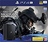 PS4 Pro 1 To G + Call Of Duty Modern Warfare - noir