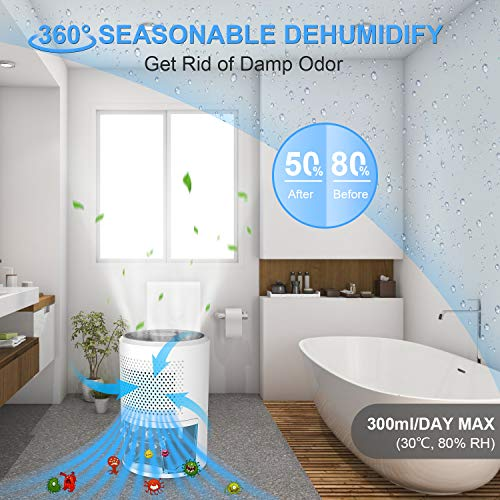 Déshumidificateur dair, Dehumidifier 1000 ml Deshumidificate