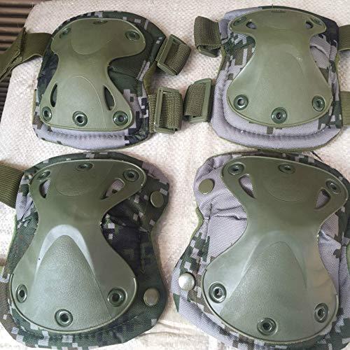 HYY-YY Codo de protección de rodilla Cs al aire libre