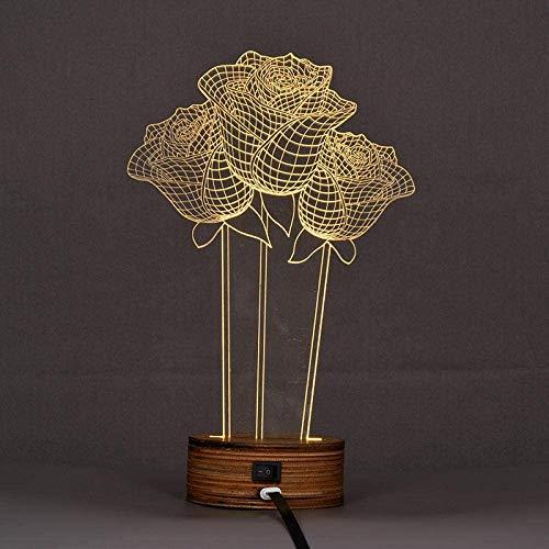 3D-Nachtlicht Kreative 3D-Nachtlicht-Led-Schreibtischlampe Usb-Lampe Valentinstag-Geburtstagsgeschenklampe Nachttischlampe Laterne-Warmweiß Light_Pirate Minions