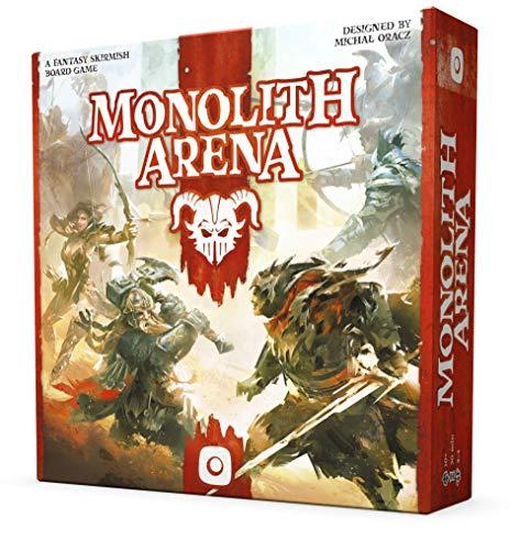 Wydawnictwo Portal POP00378 Monolith Arena - Juego de Mesa (Contenido en alemán)