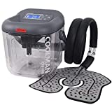 COOLMAN Cold Therapy System Cryotherapy Machine Portable Continuous Ice Pack Flexible Universal Pad for Knee, Ankle, Cervical, Back, Leg and Hip