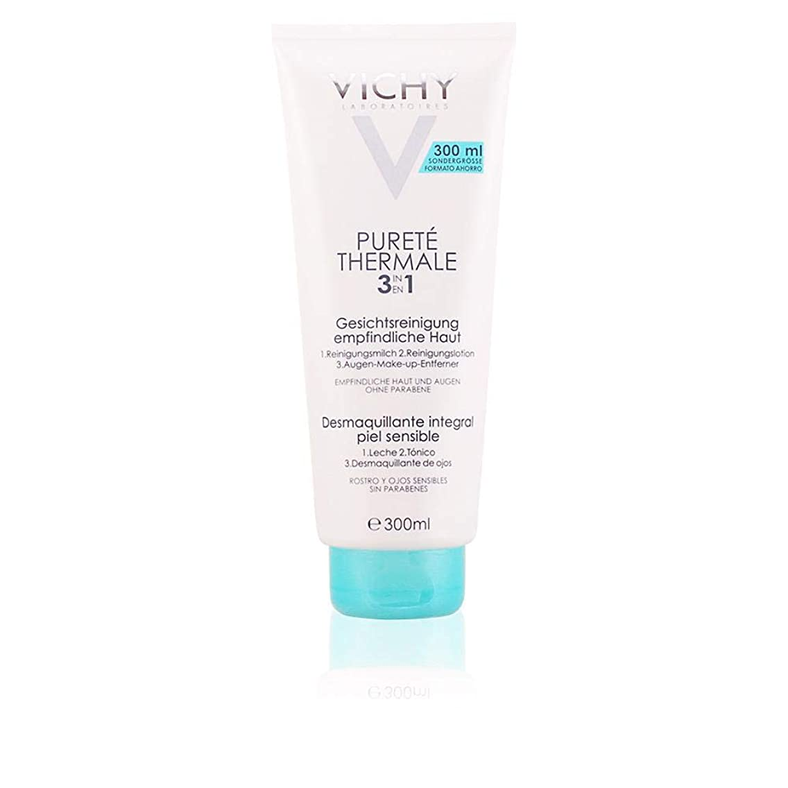 夫婦天皇突撃ヴィシー Purete Thermale 3 In 1 One Step Cleanser (For Sensitive Skin) 300ml/10.1oz並行輸入品
