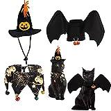 Halloween Pet Costume Ailes de Chauve-Souris Chien Chat Animaux de Compagnie Bat...