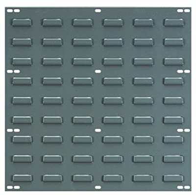 Akro-Mils Louvered Steel Panel for mounting AkroBins, 18-Inch Wide by 19-Inch High