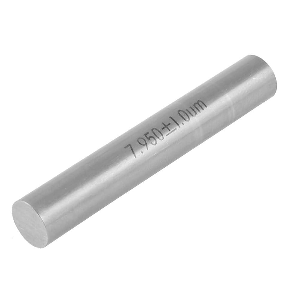 一般的に倒産まもなくuxcell ピンゲージ ホルダーボックス 7.95 x 50mm グレー 炭化タングステン素材