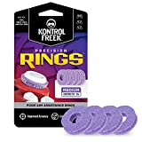 KontrolFreek Precision Rings | Aim Assist Motion Control for PlayStation 4 (PS4), Xbox One, Switch Pro & Scuf Controller (Purple (Medium))