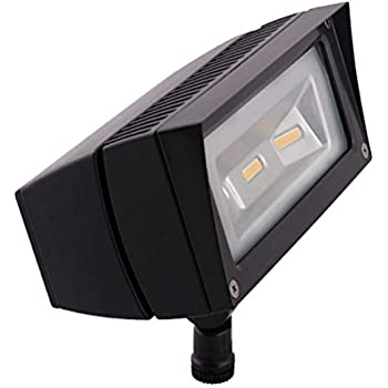 RAB Lighting WPLED2T125Y//480 Ultra High Output//Efficiency LED Wallpack Color Temperature Bronze Finish 3000 K 125W Warm Standard Type 1103371