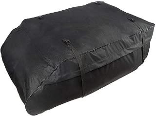 Bolsa de techo para automóvil FancyU, cofre de techo impermeable para automóvil con correas anchas para viajes largos y transporte de equipaje