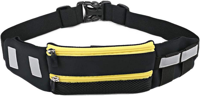 ASdf Running Belt Free Pouch Bag Fanny Pack Workout Belt Sports Waist Pack Belt Pouch in Running Walking Cycling Gym