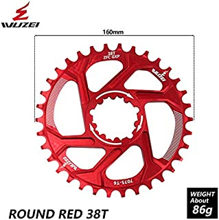 WUZEI Bicycle Chainwheel 30T/32T/34T/36T/38T Narrow Wide...