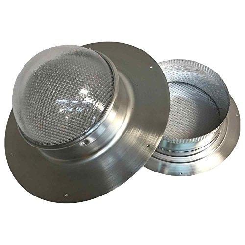 Solar LightBlaster for Shingled Sheds (Solar Tube Skylight for shed Applications)