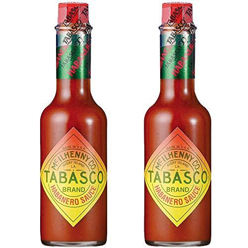タバスコ ハバネロソース 60ml 2本セット ホットソース ピザ 唐辛子